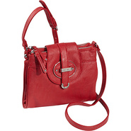 Zipster Small Crossbody Candy Apple - Nine West Ha