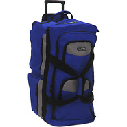Eight Pocket 33  Rolling Duffel - Royal Blue