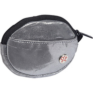 Leather Token Coin Purse Metal Silver - TOKEN Ladi