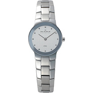 Silver Tone Link Watch Silver - Skagen Watches