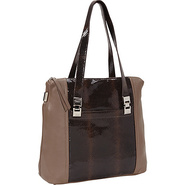 Harper Shopper Truffle - B. Makowsky Leather Handb
