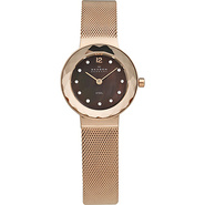 Rose Gold Tone Steel Mesh Women's Watch Rose Gold