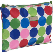 Medium Zippered Carry All - Jazz Dots