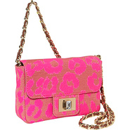 Mini Leopard Shoulder Bag Neon Pink Leopaed - Juic