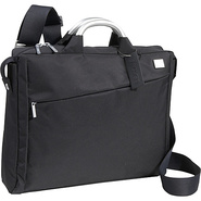 Airline Document Laptop Bag BLACK - Lexon Non-Whee