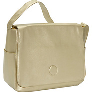 Moppet Diaper Bag: Metallic - Gold
