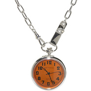 Eddie Pocket Watch - Orange