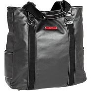 Carina Vertical Tote - Black