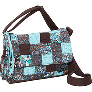 Pauline Bag Glacier Patch - Donna Sharp Fabric Han