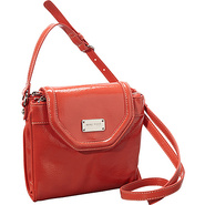 Can't Stop Shopper Tab Crossbody Papaya - Nine Wes