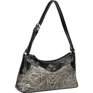 Heartland Shoulder Bag Black and Grey - American W