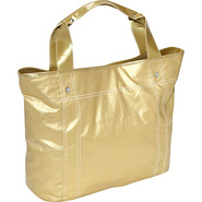 Wellie Travel Tote - Gold