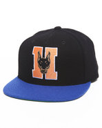 Hall Of Fame Men H Dawgs Snapback Cap Black
