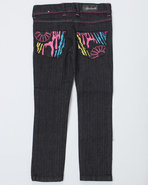 Girls Zebra Jeans (4-6X) Black 5