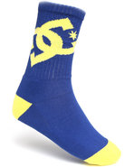 Dc Shoes Men Lifted Socks Blue 10-13