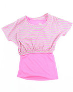 Girls 2 Pc Set Pink 10/12 (M)