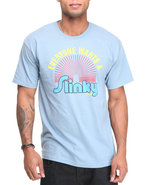 Men Slinky Tee Teal Xx-Large