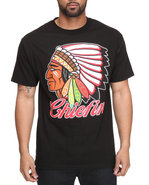 Drj Underground Men Chiefin Tee Black Small
