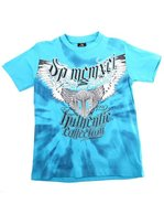 Boys Authentic Screen Tee (4-7) Blue 4