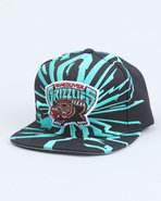Men Vancouver Grizzlies Nba Earthquake Snapback Ca