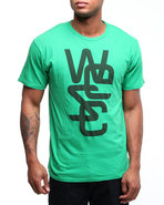 Wesc Men Overlay Tee Green Small