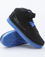 Men F-13 Lite Hightop Sneaker Black 11.5