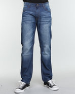 Men The Source Signature Emb Denim Jeans Indigo 36