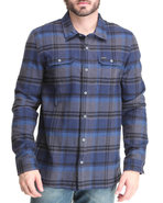 Men Runyon L/S Button-Down Navy Medium
