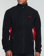 Men Winner Arctic Fleece Jacket Black Medium