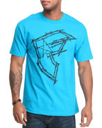 Men Nailed Boh Tee Teal Medium