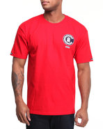 Men Rollin With Quality Tee Red X-Large