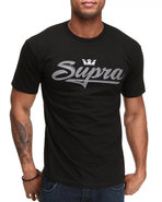 Men Signature Tee Black Large