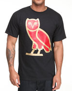 Drj Underground Men Owl A Tee Black Small