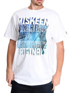 Men Photo Reel Tee White Medium