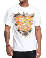 5Ive Jungle Men Walk Of Life Tee White Large