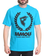 Men Wreath Boh Tee Teal X-Large