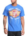 5Ive Jungle Men Tiles Tee Blue Large