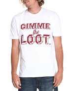 Akoo Men Gimme The Loot Tee White Large