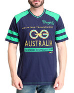 Coogi Men Expedition Tee Navy X-Large