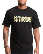 Men B True Tee Black Small