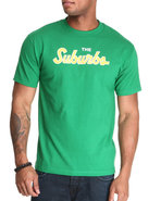 Men Suburbs Tee Gold X-Large