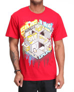 5Ive Jungle Men King&#39;s County Tee Red Xx-Large