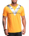 Lavie Men Dubai 2 X Agent S/S Tee Orange 4X-Large
