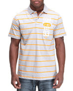 Men Y/D Left Chest Numeral Polo Grey Xx-Large
