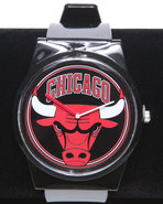 Men Chicago Bulls Pantone Nba Flud Watch Black