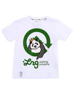 Lrg Boys The Homeboy Panda Tee (4-7) White 5