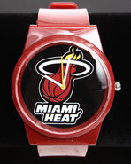 Men Miami Heat Pantone Nba Flud Watch Red