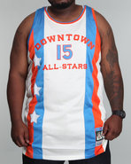 Men Downtown All Stars Jersey (B&T) White 3X-Large