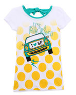 Girls I Heart Sp Tee (7-16) Teal 7/8 (S)