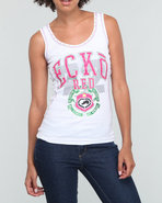 Women Active Tank Top White Large